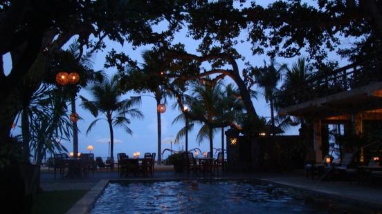 bali hotel twilight